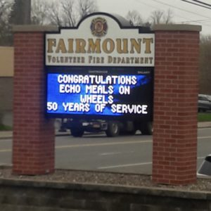 Fairmount FD sign