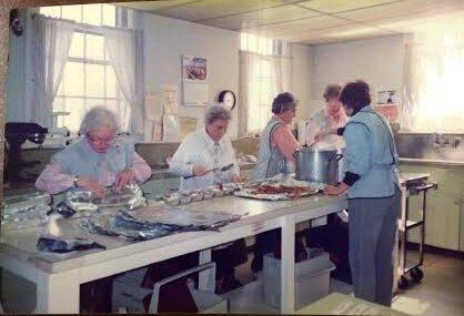 ladies in the kitchen